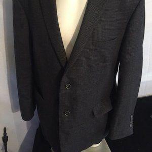 Jos A Bank 1905 48R B&T Vent Sport Coat 100% Wool